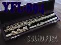 YAMAHA YFL-894 総銀ハンドメイド ソルダード リングキー フルート 美品