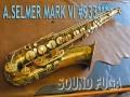★★★ A.SELMER MARK VI  93千番台 オリジナルラッカー75% テナーサックス