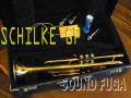 ★★★ SCHILKE B5 GOLD PLATE Bb  金メッキ トランペット MP3本 美品