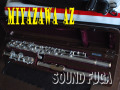 MIYAZAWA AZ MZ-A L/R+クラウン9K 総銀フルート 極上