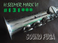 H.SELMER MARK VI 13万番台 希少High-F#キー無 シルバープレート ソプラノサックス