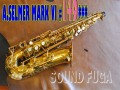 ★Weekly Sale★ A.SELMER MARK VI 14万番 オリジナルラッカー85% アルトサックス