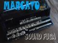 MARCATO FL100RE FLUTE  銀メッキ RINGキー C+B足部管