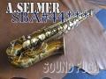 A.SELMER SBA 44千番台 オリジナルラッカー93% アルトサックス