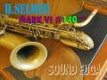 H.SELMER MARK VI 14万番台 バリトンサックス Low Aキー付
