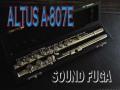 ★Spring★ ALTUS A-807E FLUTE Eメカ付 フルート