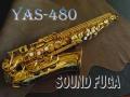 YAMAHA YAS-480 ALTO アルトサックス MPセット 3WAYケース 美品