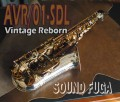 CANNONBALL AVR/01-SD-L 30本現行モデル  Vintage Reborn  アルトサックス 美品