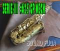 H.SELMER SERIE-III セリエ3 彫刻付 GP NECK 62万番台 アルトサックス