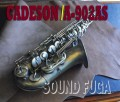 CADESON A-902AS High-F#キー付 アルトサックス 美品