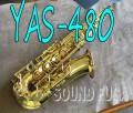 YAMAHA YAS-480 ALTO アルトサックス 3WAYケース 良品