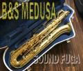 第3弾★祝・令和元年セール★B&S  MEDUSA プロモデル Low-A付 バリトンサックス 美品