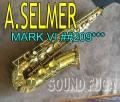 A.SELMER MARK VI 20万番 彫刻付 オリジナルラッカー99% アルト 極上