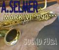 A.SELMER MARK VI Low-A無 9万番台 リラッカー バリトンサックス