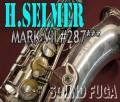 H.SELMER MARK VII 彫刻付 銀メッキ 28万番台 テナーサックス 委託品
