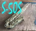 YANAGISAWA A-50S 希少 銀メッキ アルトサックス ★不良タンポ交換/ネックコルク交換済