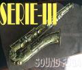 ◆スプリングセール◆H.SELMER SERIE-III 彫刻付  57万番台 テナーサックス