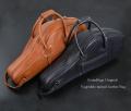 SOUNDFUGA オリジナル Vegetable Tanned Leather ALTO  CASE アルト本革フライトケース