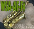 WOODSTONE WSA-AF-High F# キー付 アルトサックス
