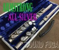 ARMSTRONG FLUTE フルート ALL SILVER
