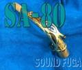 H.SELMER SA-80 I/II ALTO用 彫刻付き 金メッキ GP NECK