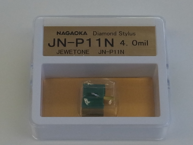 NAGAOKA ナガオカ ジュエルトーン MP-11JSP用交換針 JN-P11N/SP 4.0mil