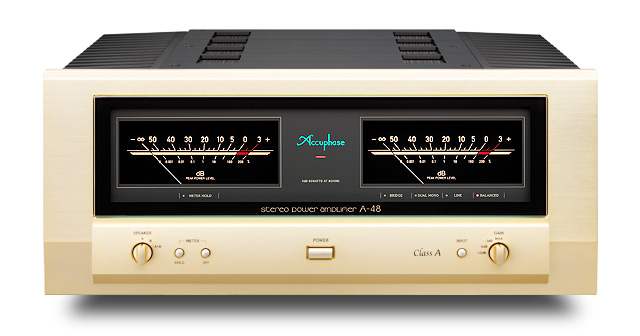 Accuphase アキュフェーズ A-48 純A級ステレオ・パワーアンプ