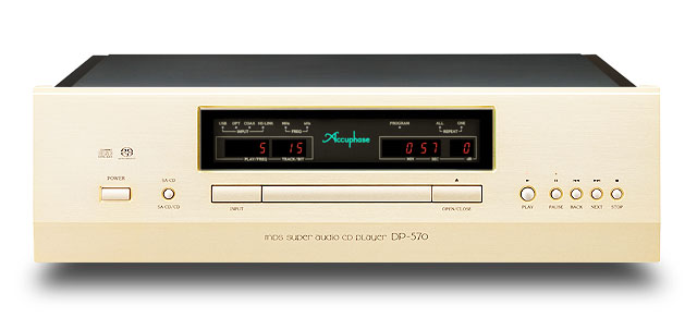 Accuphase アキュフェーズ DP-570 SACD/CDプレーヤー