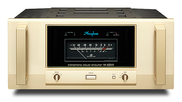 Accuphase アキュフェーズ M-6200 モノフォニック・パワーアンプ