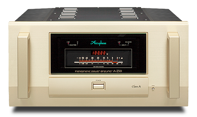 Accuphase アキュフェーズ A-250 純A級モノフォニック・パワーアンプ