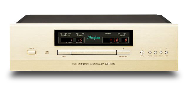 Accuphase アキュフェーズ DP-450 ディスク再生の理想を極めたCD専用プレーヤー