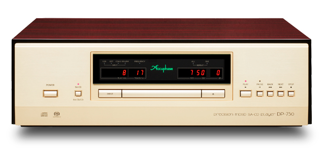Accuphase アキュフェーズ DP-750 SA-CD/CDプレーヤー