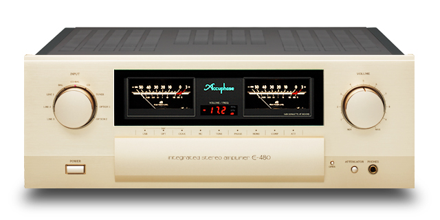 Accuphase アキュフェーズ E-480 プリメイン・アンプ