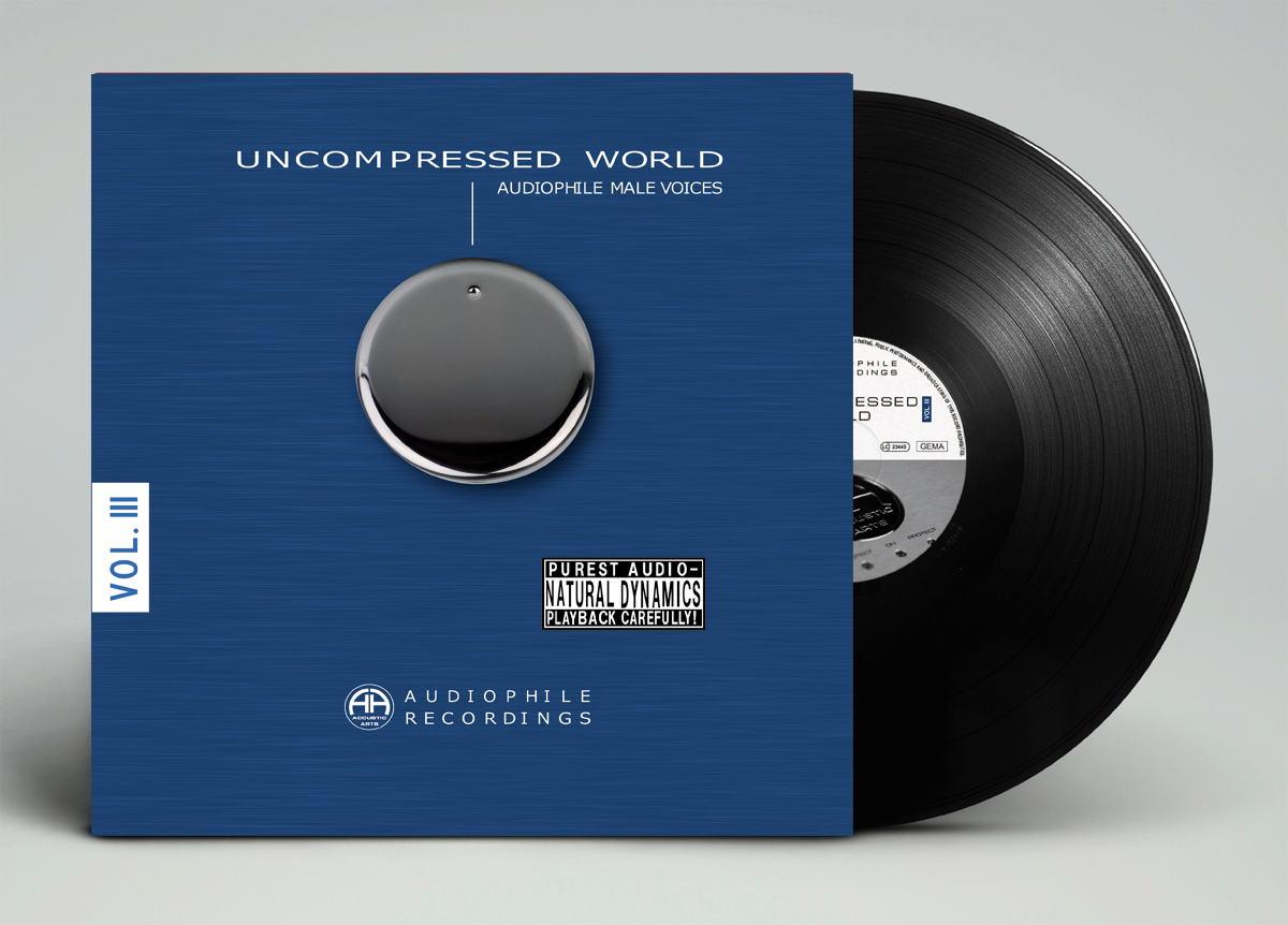 "Accustic Arts アクースティック・アーツ Audio LP ""Uncompressed World Vol.III"" 男性ボーカル特集 LP二枚組"