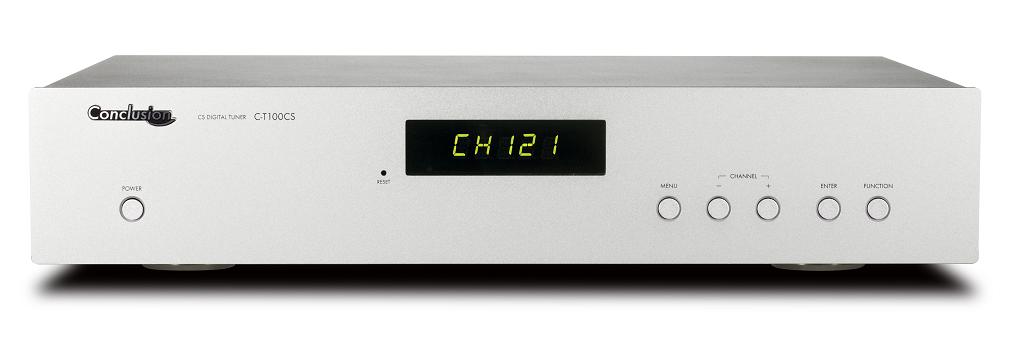 Conclusion C-T100CS 24ビット放送対応 ハイエンドモデル ミュージックバード専用チューナー