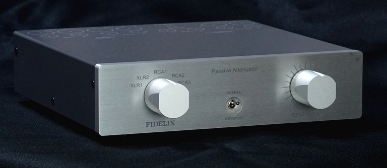 FIDELIX フィデリックス TruPhase トゥルフェイズ セレクター付きパッシブアッテネーター 日本製