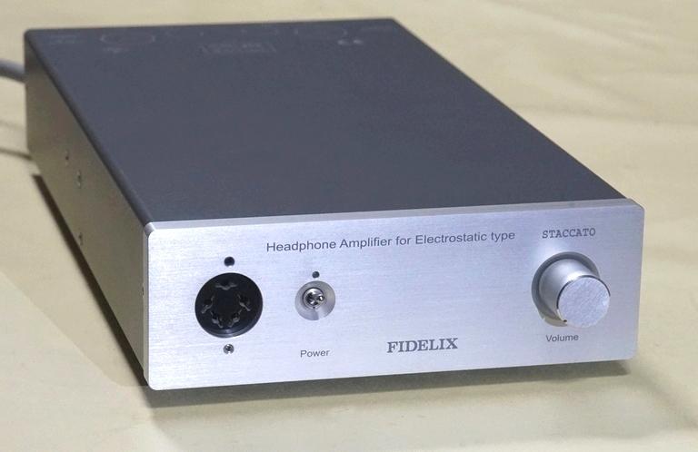 FIDELIX フィデリックス STACCATO スタッカート エレクトロスタティック型ヘッドフォン用ドライブアンプ