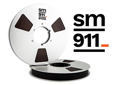 RECORDING THE MASTERS R34120 オープンリールテープ Pro tapes Studio Master SM911 1/4''x2500' 10'' NAB Metal Reel