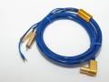 [訳あり] ortofon オルトフォン 6NX-TSW1010L トーンアームケーブル L型5PINプラグ-RCA端子