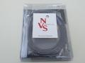 [メーカーデモ品] NVS Sound FD V Phono Cable NVSフォノケーブル DIN 5pin-RCA 1.5m