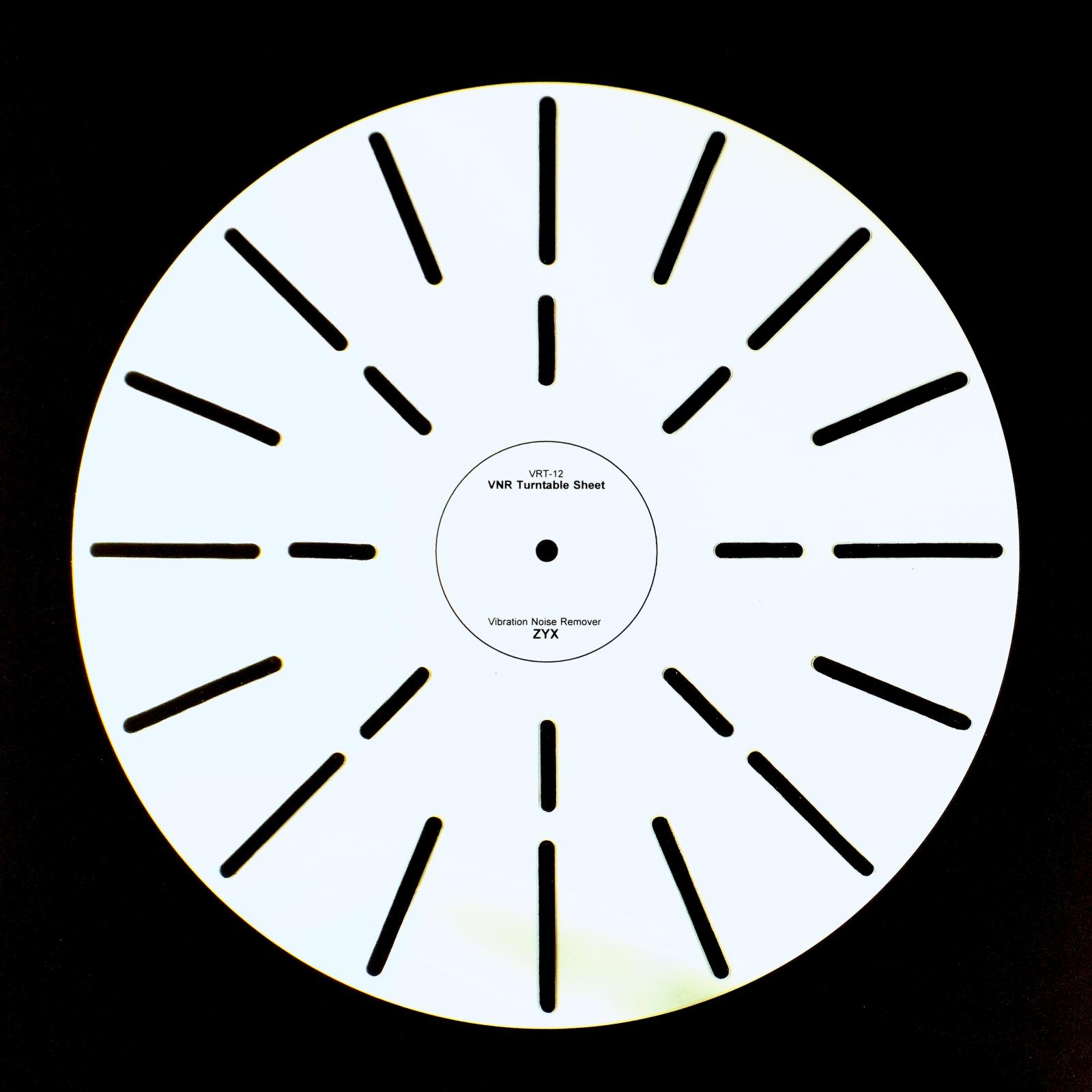 ZYX ジックス VRT-12 VNR Turntable Sheet (Vibration Noise Remover) ターンテーブルシート