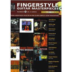 FINGERSTYLE GUITAR MASTERIECES / スコアブックCD付