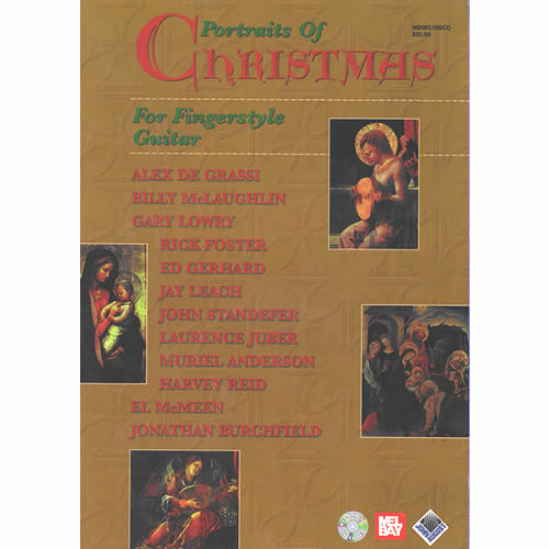 Portraits of CHRISTMAS For Fingerstyle Guitar / スコアブックCD付