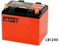 ODYSSEY オデッセイ バッテリー Ultimate LB1200 【 メタルジャケット付 】