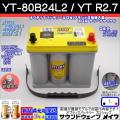 オプティマバッテリー YT-80B24L2 / YT R2.1