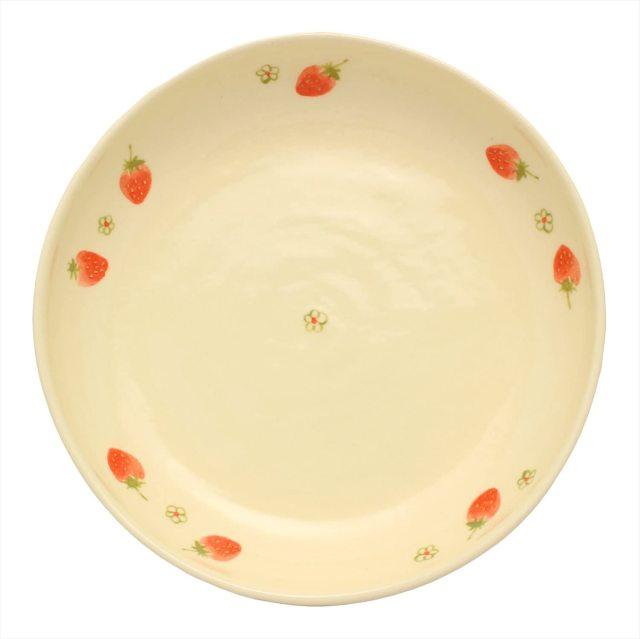 パスタ皿(いちご)
