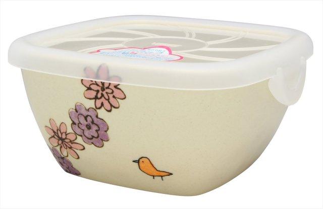 パック小(花と鳥 ピンク)