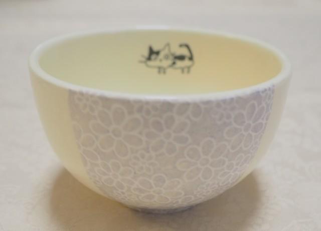 ちゃわん/小鉢(小花紫 ねこ)