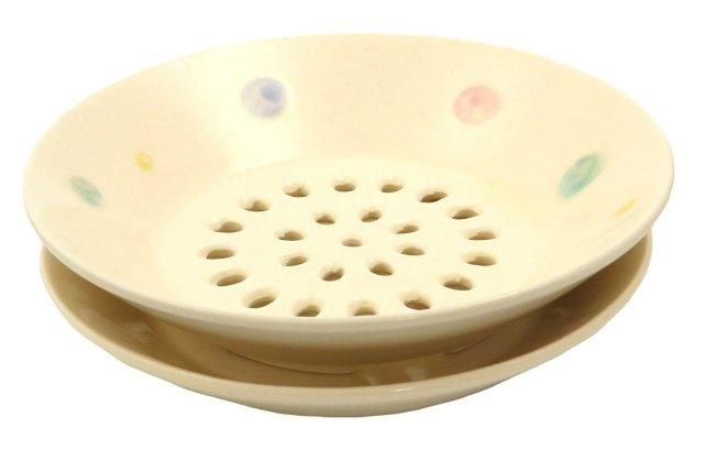 水切皿(あめ玉)