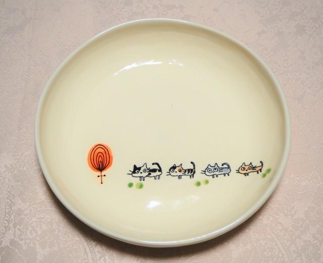 パスタ皿(nekoneko 木Circle)